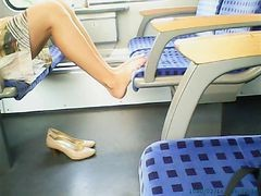 Masturbation, Train, Xhamster.com